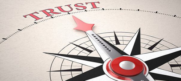 WANT CUSTOMERS TO LOVE YOU? START WITH BEING TRUSTWORTHY
